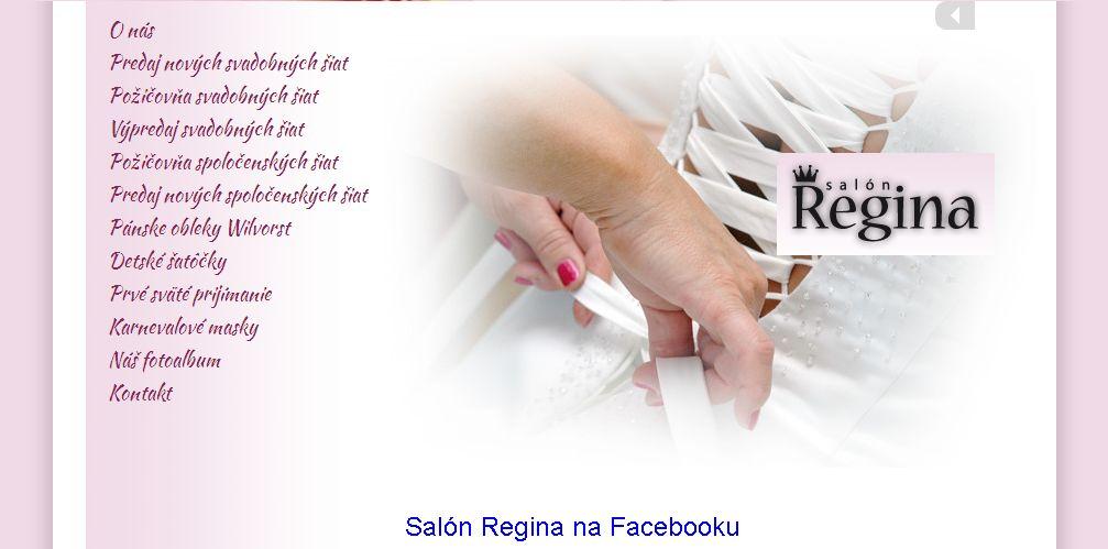 d0682f073427 Svadobný Salón Regina v Topoľčanoch